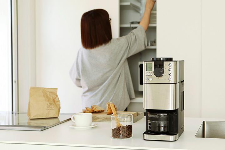 豆から挽けるコーヒーメーカー体験レポート
