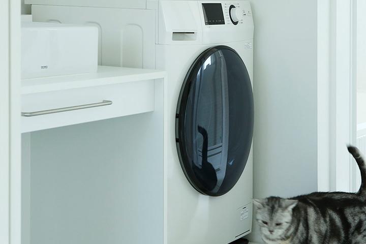 ドラム式洗濯機がやって来た