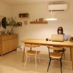 「鎌倉の家」夜の室内レポート