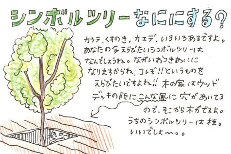 三鷹の家のシンボルツリー