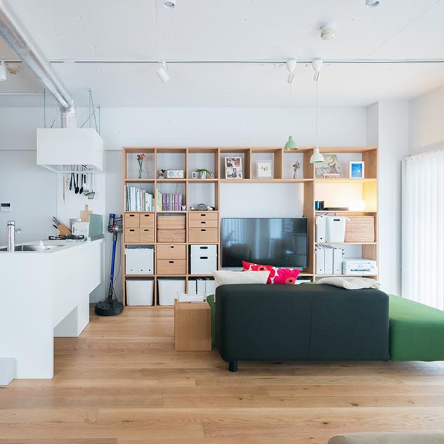 無印良品のリノベーション|施工例・入居者インタビュー